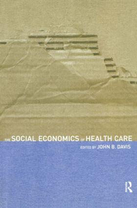 Davis | The Social Economics of Health Care | Buch | sack.de
