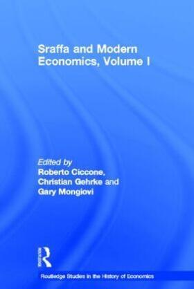 Ciccone / Gehrke / Mongiovi | Sraffa and Modern Economics | Buch | sack.de