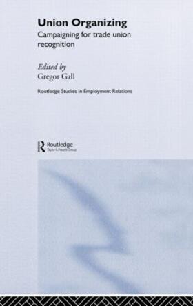 Gall | Union Organizing | Buch | sack.de
