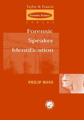 Rose   Forensic Speaker Identification   Buch   sack.de