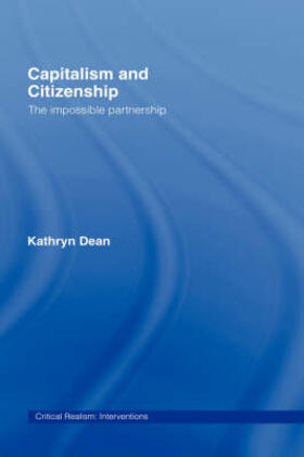 Dean   Capitalism and Citizenship   Buch   sack.de