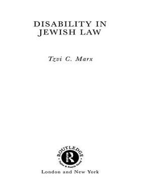 Marx   Disability in Jewish Law   Buch   sack.de