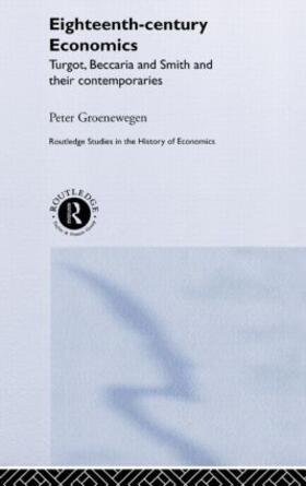 Groenewegen | Eighteenth Century Economics | Buch | sack.de