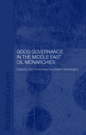 Hetherington / Najem   Good Governance in the Middle East Oil Monarchies   Buch   sack.de