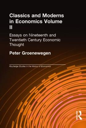 Groenewegen | Classics and Moderns in Economics Volume II | Buch | sack.de