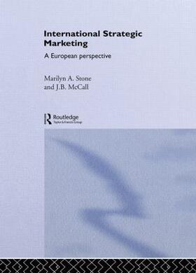 McCall / Stone   International Strategic Marketing   Buch   sack.de