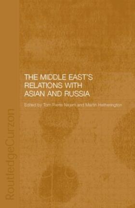 Carter / Ehteshami | The Middle East's Relations with Asia and Russia | Buch | sack.de