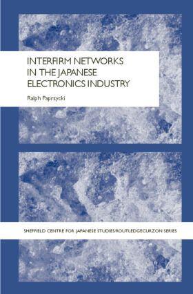 Paprzycki | Interfirm Networks in the Japanese Electronics Industry | Buch | sack.de