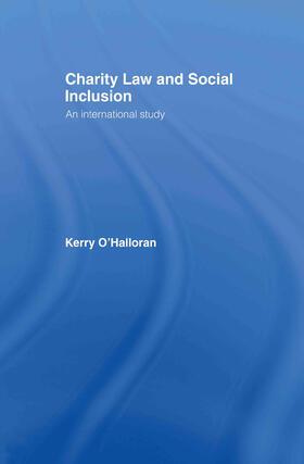 O'Halloran | Charity Law and Social Inclusion | Buch | sack.de