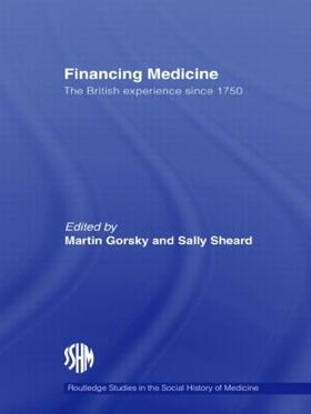 Gorsky / Sheard   Financing Medicine   Buch   sack.de