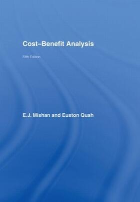 Mishan / Quah   Cost-Benefit Analysis   Buch   sack.de