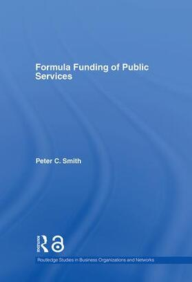 Smith | Formula Funding of Public Services | Buch | sack.de