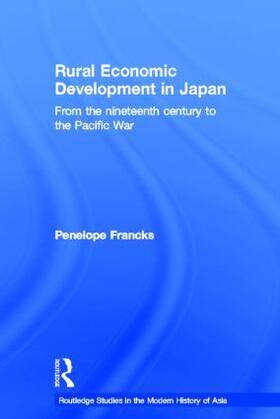 Francks | Rural Economic Development in Japan | Buch | sack.de