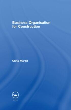 March | Business Organisation for Construction | Buch | sack.de