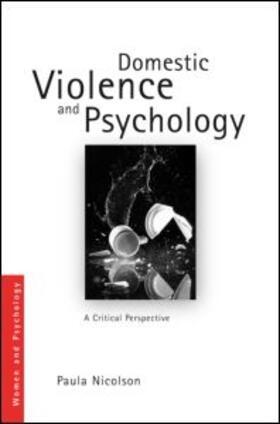 Nicolson | Domestic Violence and Psychology | Buch | sack.de