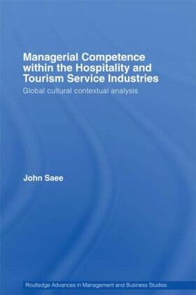 Saee   Managerial Competence within the Hospitality and Tourism Service Industries   Buch   sack.de