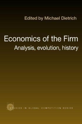 Dietrich | Economics of the Firm | Buch | sack.de