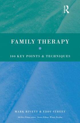 Rivett / Street   Family Therapy   Buch   sack.de