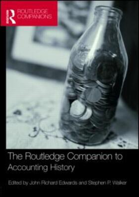 Edwards / Walker   The Routledge Companion to Accounting History   Buch   sack.de