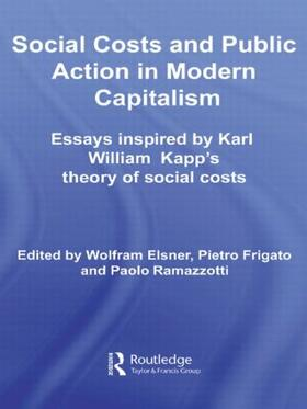Elsner / Frigato / Ramazzotti | Social Costs and Public Action in Modern Capitalism | Buch | sack.de
