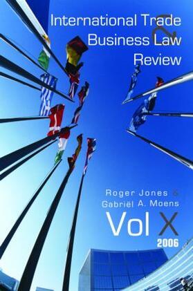 Moens / Jones | International Trade and Business Law Review | Buch | sack.de