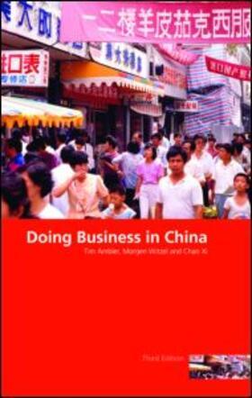 Xi / Ambler / Witzel   Doing Business in China   Buch   sack.de