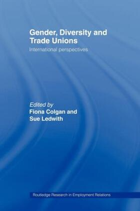 Colgan / Ledwith | Gender, Diversity and Trade Unions | Buch | sack.de