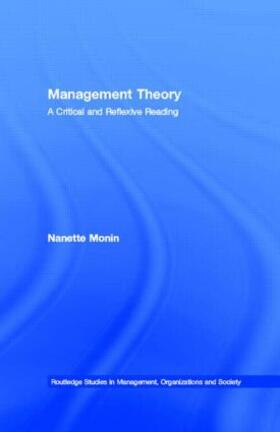 Monin | Management Theory | Buch | sack.de