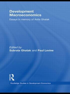 Ghatak / Levine | Development Macroeconomics | Buch | sack.de