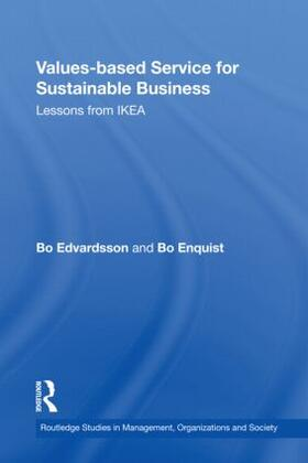Edvardsson / Enquist | Values-based Service for Sustainable Business | Buch | sack.de