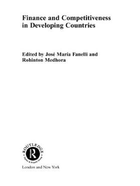 Fanelli / Medhora | Finance and Competitiveness in Developing Countries | Buch | sack.de