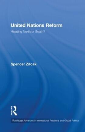 Zifcak | United Nations Reform | Buch | sack.de