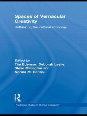 Edensor / Leslie / Millington | Spaces of Vernacular Creativity | Buch | sack.de