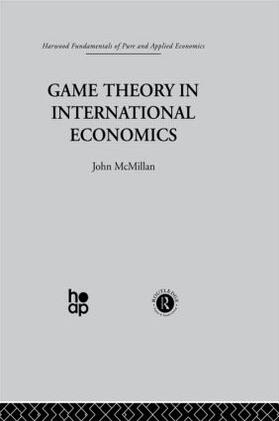 McMillan | Game Theory in International Economics | Buch | sack.de