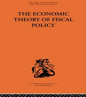 Hansen   The Economic Theory of Fiscal Policy   Buch   sack.de