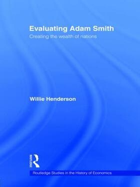Henderson | Evaluating Adam Smith | Buch | sack.de