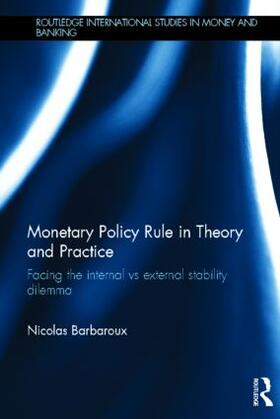 Barbaroux | Monetary Policy Rule in Theory and Practice | Buch | sack.de
