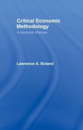 Boland | Critical Economic Methodology | Buch | sack.de