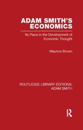 Brown | Adam Smith's Economics | Buch | sack.de