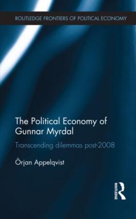 Appelqvist   The Political Economy of Gunnar Myrdal   Buch   sack.de