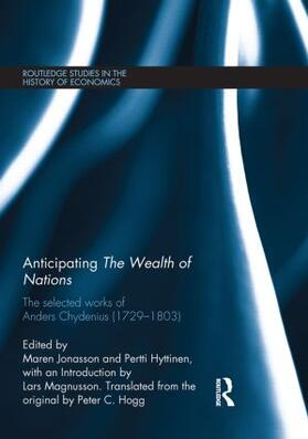 Chydenius / Jonasson / Hyttinen | Anticipating The Wealth of Nations | Buch | sack.de