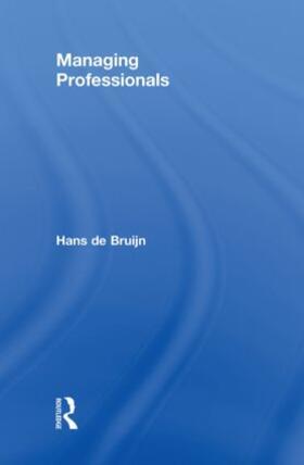 de Bruijn   Managing Professionals   Buch   sack.de
