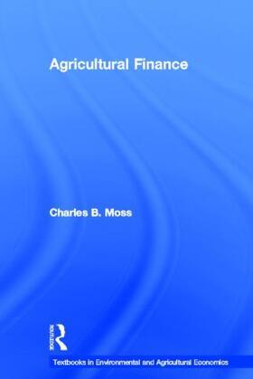 Moss | Agricultural Finance | Buch | sack.de