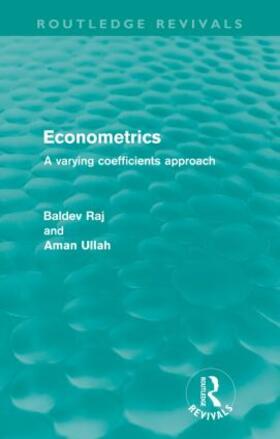 Raj / Ullah | Econometrics (Routledge Revivals) | Buch | sack.de
