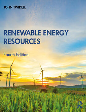 Twidell | Renewable Energy Resources | Buch | sack.de