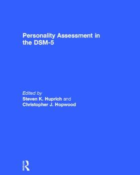 Huprich / Hopwood | Personality Assessment in the DSM-5 | Buch | sack.de