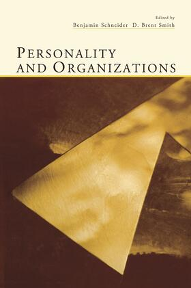 Schneider / Smith   Personality and Organizations   Buch   sack.de