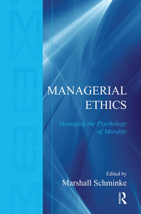 Schminke | Managerial Ethics | Buch | sack.de