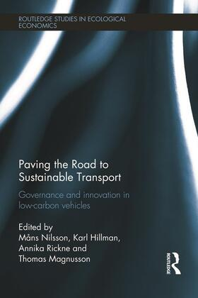 Nilsson / Hillman / Rickne | Paving the Road to Sustainable Transport | Buch | sack.de