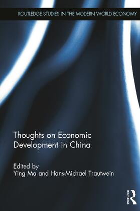 Ying / Trautwein | Thoughts on Economic Development in China | Buch | sack.de